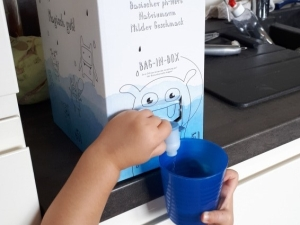 Toki Trinkwasser ErdnussFrosch.com